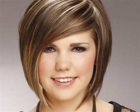 hairstyles for thin hair round face 2015 peinados para mujeres gorditas sean de cuerpo tipo pera o
