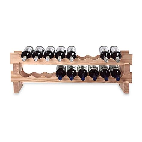 wine rack bed bath and beyond 18 bottle stackable wine rack kit bed bath beyond