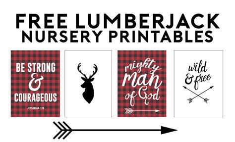 Home Decor Buffalo Lumberjack Free Printables Nursery Gallery Wall Ideas
