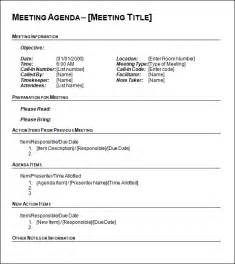 agenda template word agenda template 12 free documents in pdf