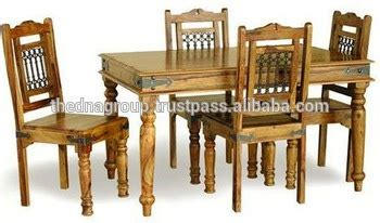 traditional indian dining table indian traditional wooden dining table with four chairs