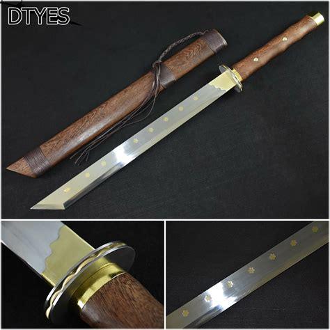Handmade Sword Company - espada katana chinesa metal swords high manganese