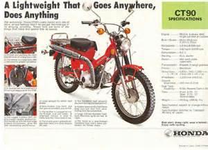 Honda 90 Trail Bike Tires Honda Trail 90 Bbt