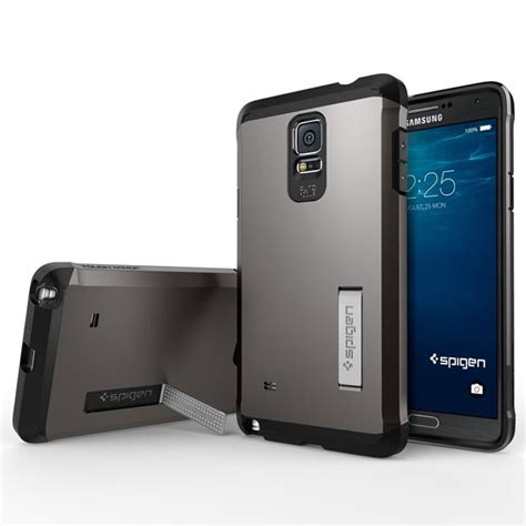 Spigen Slim Armor Samsung Galaxy Note 4 Hardcase 1 best samsung galaxy note 4 cases covers drop scratch protection naldotech