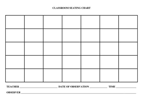 templates for the classroom classroom seating chart templates portablegasgrillweber