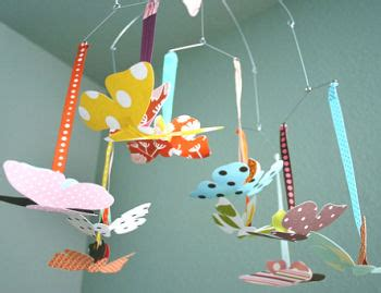 Baby Ceiling Mobile by Isobel S Modern Baby Kitten Nursery Theme
