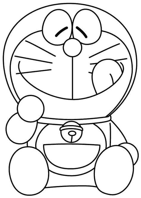 free coloring page doraemon colouring sheets cartoon doraemon free printable for boys