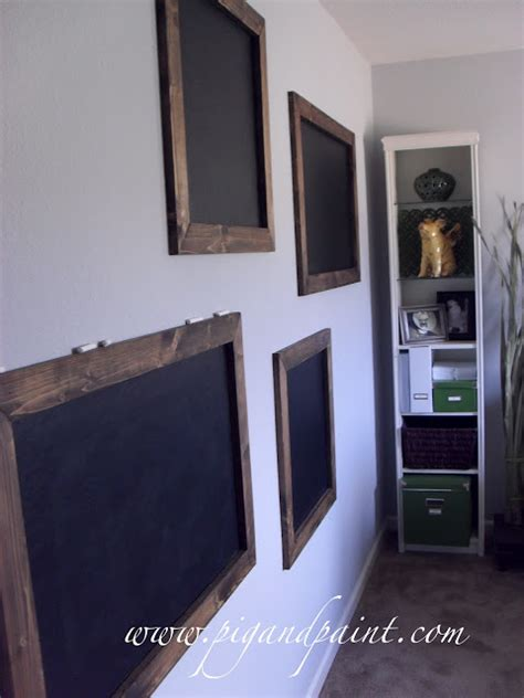 chalkboard paint textured wall pig and paint using chalkboard paint on heavily textured