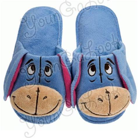 disney house shoes disney eeyore plush bedroom slippers bedroom slipper fun pinterest