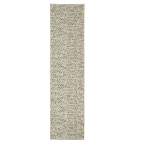 8 ft runner rug jeff lewis liam cappuccino 2 ft x 8 ft rug runner 497927 the home depot