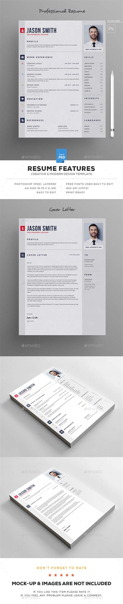 creative web design resumes ideas
