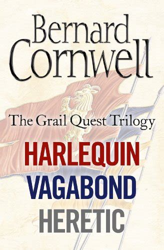 The Grail Quest the grail quest books 1 3 harlequin vagabond heretic book