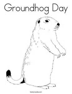 groundhog day coloring pages groundhog day coloring page twisty noodle
