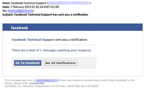 fb help facebook technical support pharmacy spam hoax slayer
