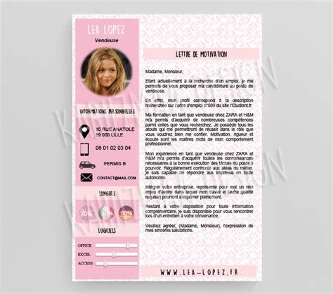 Lebenslauf Vorlage Coiffeuse Modele Cv Feminin Cv Anonyme