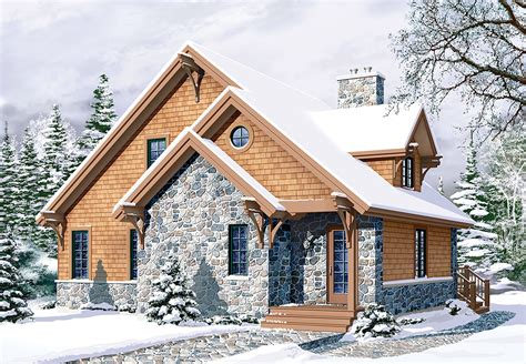 superb four season chalet drummond house plans