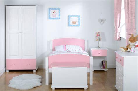 Kids Bedroom Furniture Pink White Wardrobe Bed Chest Of Pink And White Bedroom Furniture