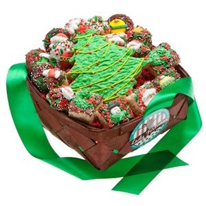 christmas dessert gift basket 19 pieces