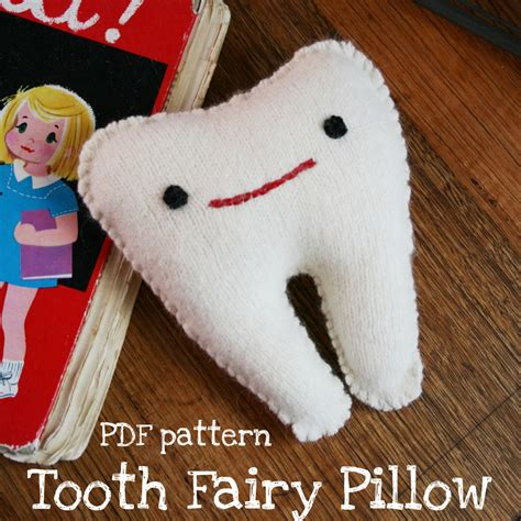 How To Make Tooth Pillow by E Books Pdf Patterns Poppet Makes