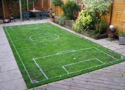 Basketball Court In Backyard Cost 25 Best Ideas About Football Pitch On Pinterest