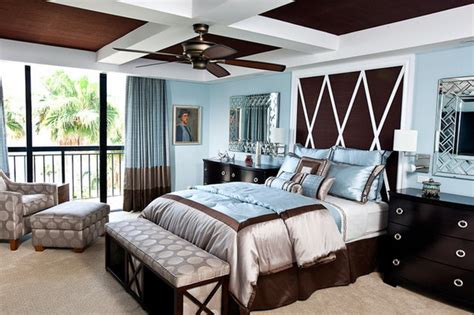 brown  blue interior color schemes   earthy  elegant room