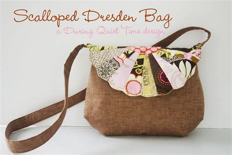 free pattern bags download scalloped dresden bag free pattern during quiet time