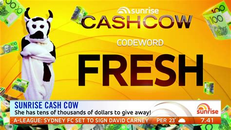 Cash Cow Giveaway - the morning show cash cow the best cow 2017