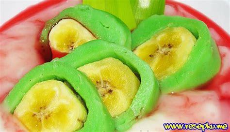 youtube membuat es pisang hijau resep es pisang ijo enak dan segar khas makassar resep