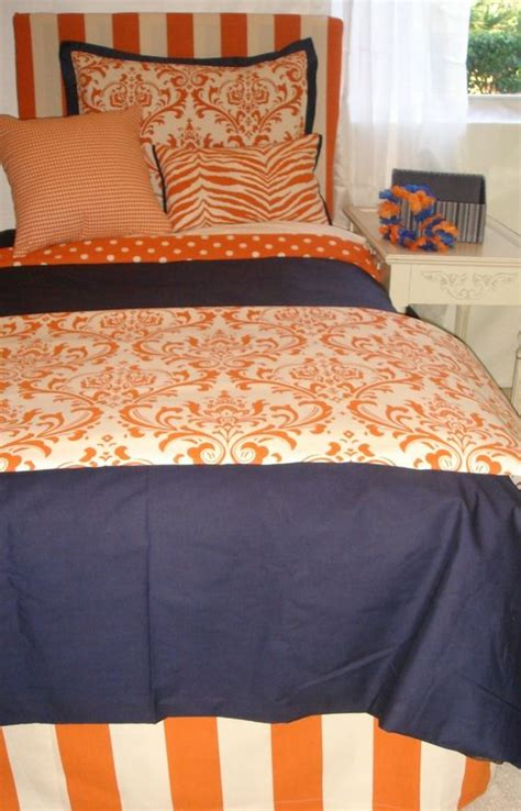 Orange And Navy Bedding by Bedding Orange And Navy Bedding On