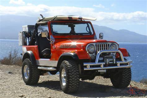 Jeep Cj7 1982 Jeep Cj7 Custom Conversion
