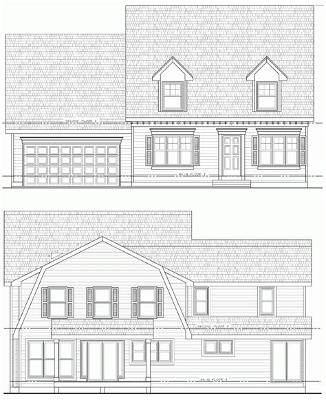 cape cod blueprints steffens hobick addition house plans cape cod
