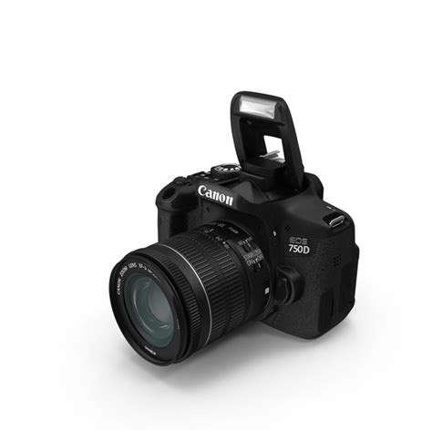 Canon Eos 750d Only Distributor canon eos 750d png images psds for pixelsquid s107327324