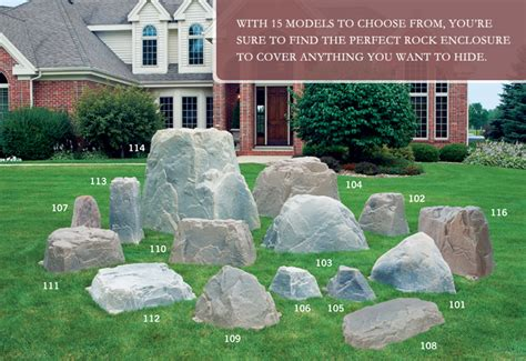 Imitation Rocks For Gardens Artificial Rocks By Williams Landscapes Rocks And Boulders Rocks Rock Covers