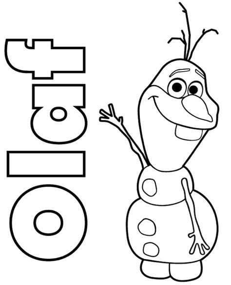 frozen spring coloring pages coloring sheet presenting snowman olaf print now