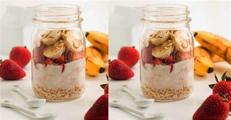 resepi oat buah  diet