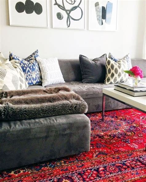 red rugs for living room best 25 red rugs ideas on pinterest traditional