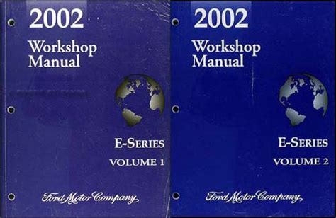 old car manuals online 2002 ford e series parking system 2002 ford econoline van club wagon wiring diagram manual original