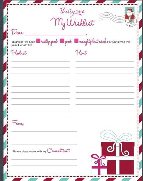 christmas wish list thirty one gifts pinterest