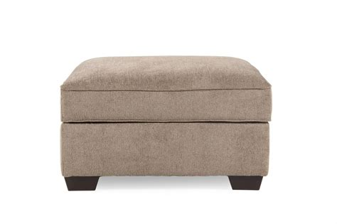 ashley furniture storage ottoman ashley patola park storage ottoman mathis brothers furniture