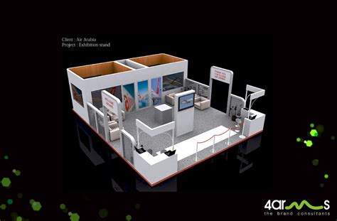 Oasis Floor Plan 3d exhibition stand design 4arms dubai web amp media