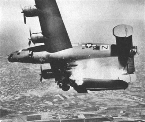 doodlebug ww2 sound file b 24 hit by flak jpg wikimedia commons