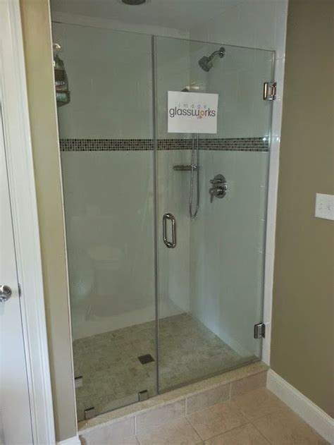 swinging shower door 114 best frameless shower doors swinging hinged images