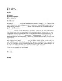 Parole Cover Letter by Sle Parole Letters The Best Letter Sle