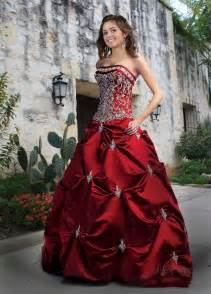 Ball gown strapless ball gowns satin ball gown black and white