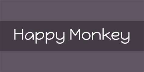 happy monkey font apk happy monkey font free by brenda gallo 187 font squirrel