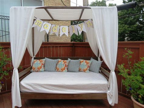 outdoor sofa with canopy outdoor daybed with canopy