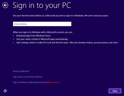 install windows 10 without microsoft account installing windows 10 without using a microsoft account