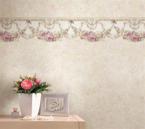 classic wallpaper borders lovely vintage decor looks brewster home