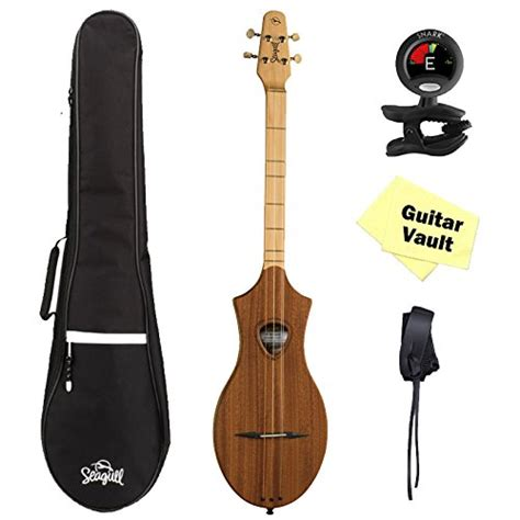 Tuner Merlin by Seagull Merlin M4 Mahogany Guitarvault Package With Gig