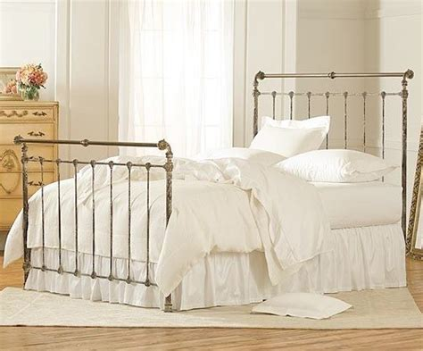 charles p rogers iron bed iron and brass sleigh bed charles p rogers
